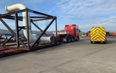 All Stop….As Another Wide Load Leaves For Offshore